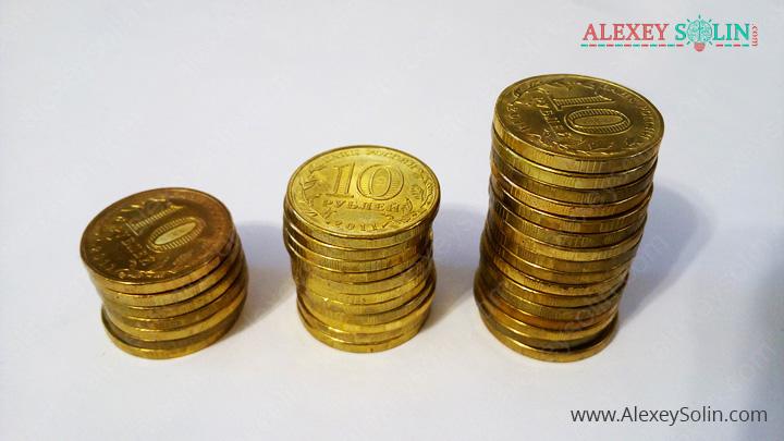 торговый счёт алексей солин монеты